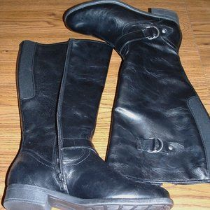 Cloudwalkers Black Riding Boots Size 10 (NWOB)
